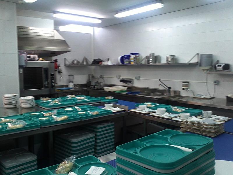 Hospital Capio - mobiliario cocina