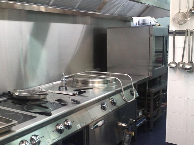 Hospital Capio - maquinaria cocinas