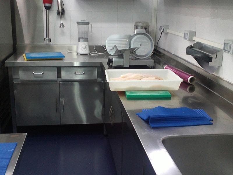 Hospital Capio - grifería industrial cocina