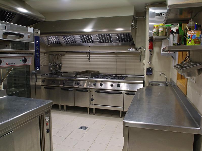 Hotel Ciudad Zaragoza - cocinas acero inoxidable