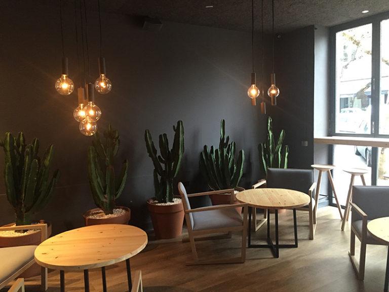 Ginger - proyecto decoración restaurante