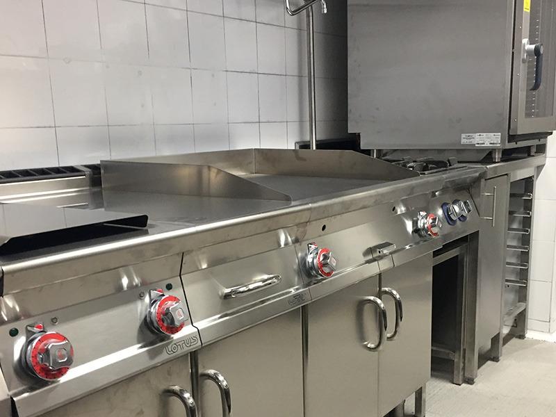 Sushi Isami - cocinas industriales modulares