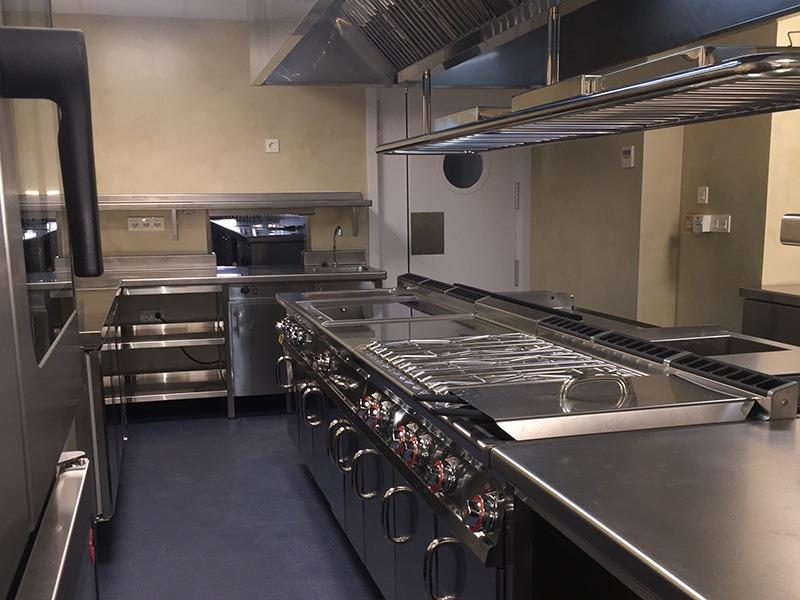 Variopinto - fuegos cocina industrial