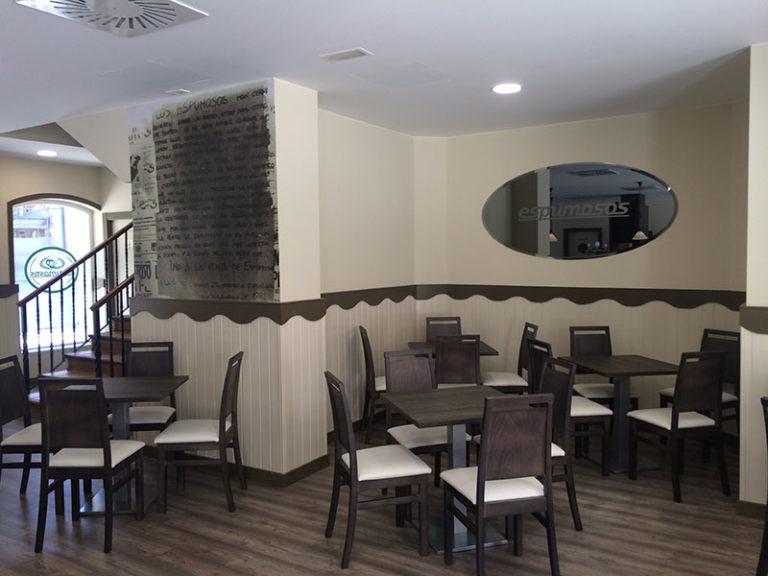 Espumosos - mobiliario bar