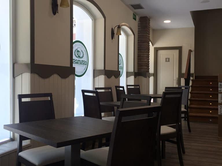 Espumosos - sillas restaurante