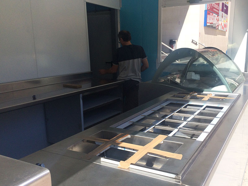 Urban Ice - cubetas toppings
