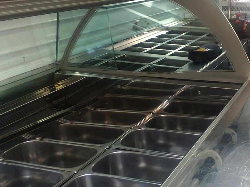 Urban Ice - mueble refrigerado heladería