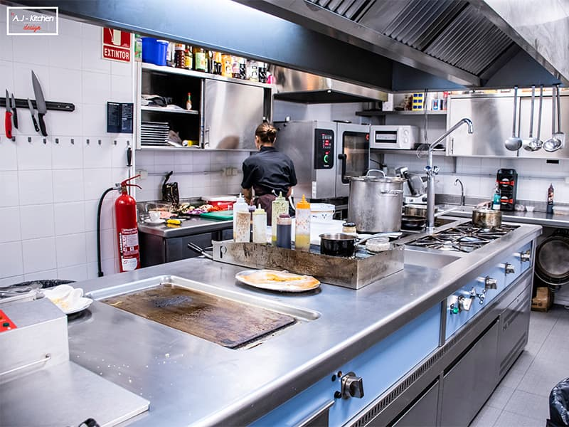 Calanova cocina industrial