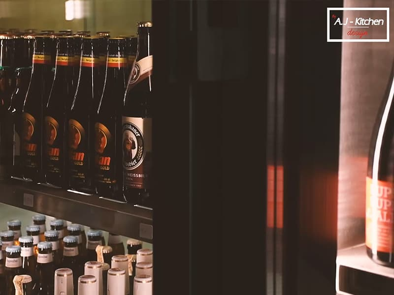 La Coctelería de Martín vitrinas refrigerantes
