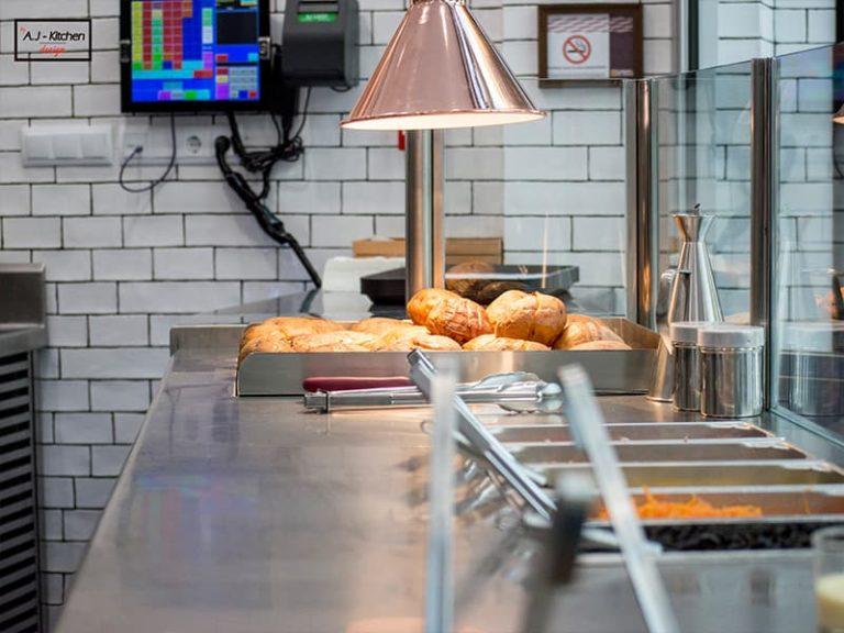 Directos al Grano mesas cocinas industriales