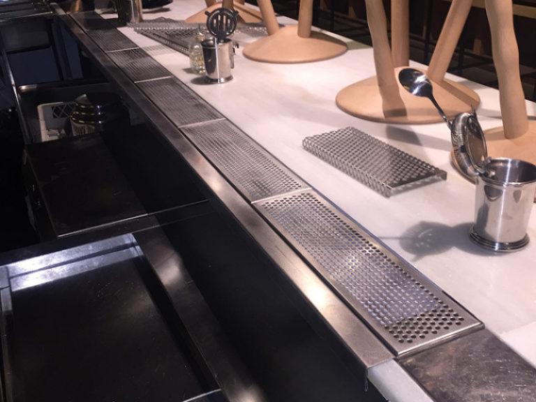 Ginger - barra cocina vitrina expositora