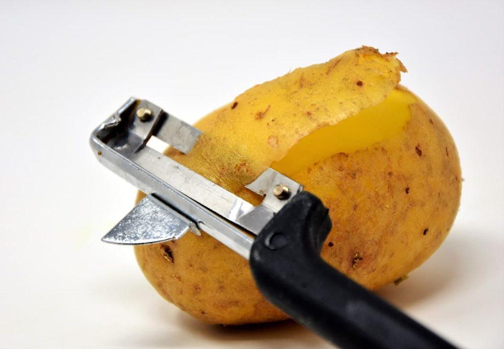 pelador industrial de patatas