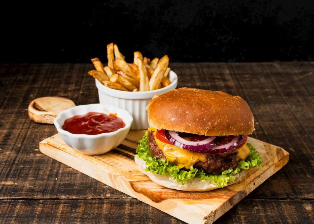 maquinaria para hamburguesería