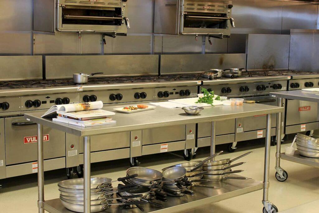 cocinas industriales en acero inoxidable