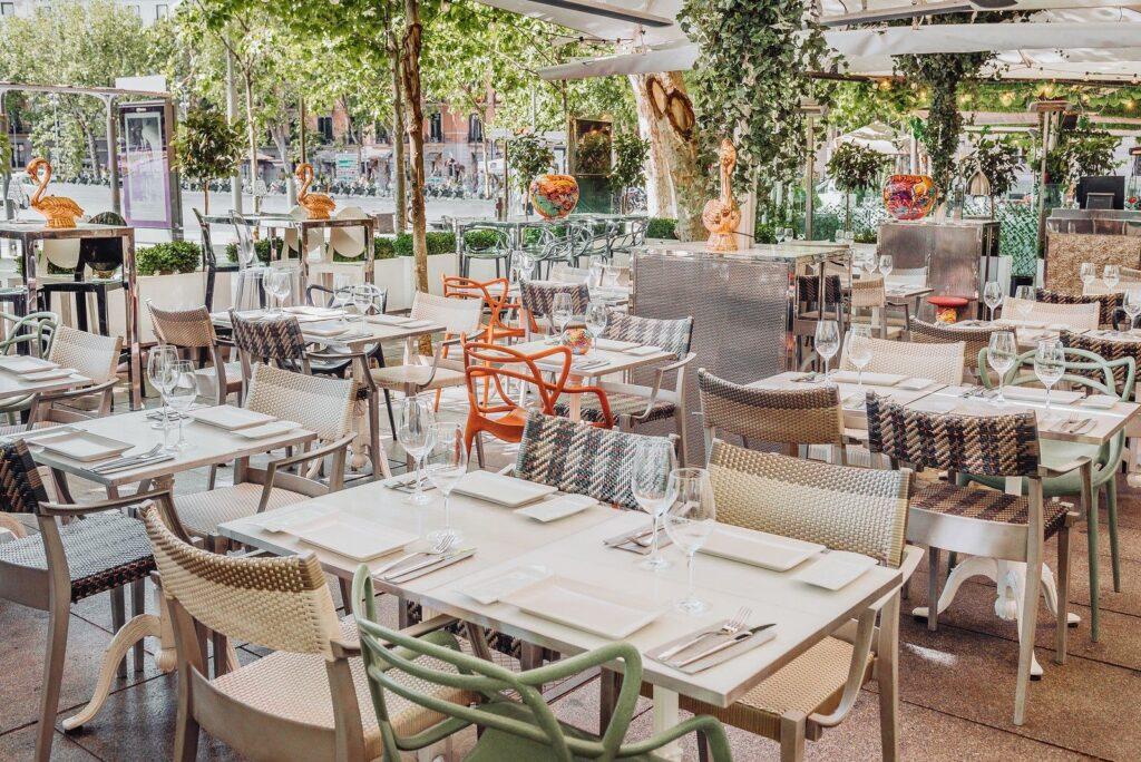 restaurantes con terraza en verano