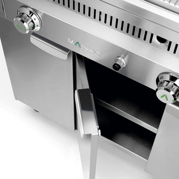 Mesas de soporte para fry-tops