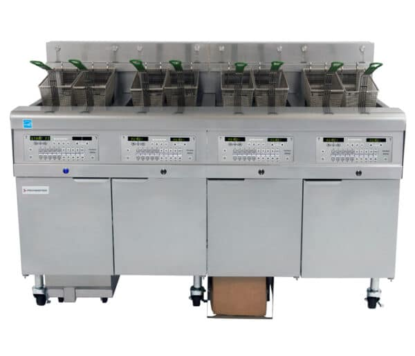 FQE30U FilterQuick® Oil-Conserving Electric Fryers with Fully-Automatic Filtration (AF) and Optional Oil Quality Sensor