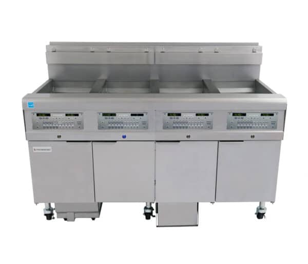FQG30U Filter Quick® Oil-Conserving Gas Fryers with Fully-Automatic Filtration (AF) and Optional Oil Quality Sensor