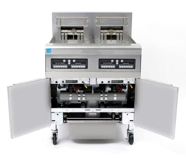 RE Electric Fryer Batteries with Filtration 14 kw