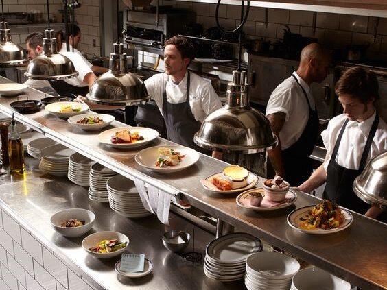 cocinas pequeñas para restaurantes